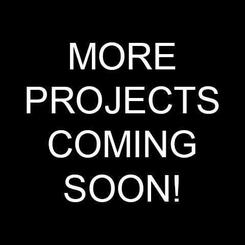 more-projects-soon